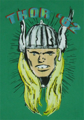 Thor '62 - Marvel Comics Sheer T-shirt