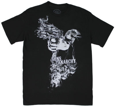 Open Fire (Black) - Sons Of Anarchy T-shirt