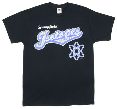 Springfield Isotopes - Simpsons T-shirt