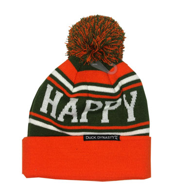 Happy Pom - Duck Dynasty Knit Hat