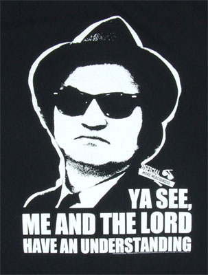 Me And The Lord Have An Understanding - Blues Brothers Shee T-shirt