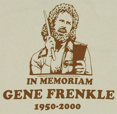 Gene Frenkle - More Cowbell T-shirt