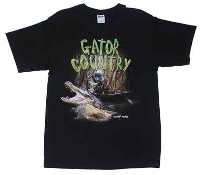 Gator Country - Swamp People T-shirt