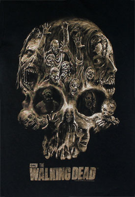 Skull Of Walkers - Walking Dead T-shirt