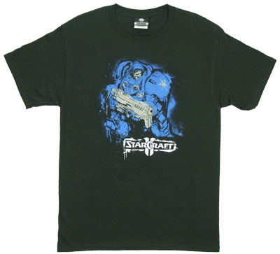 Marine - Starcraft II T-shirt