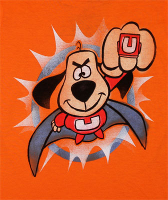 Underdog Caped Todderl T-shirt