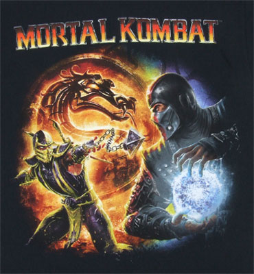 Scorpion Vs. Sub Zero - Mortal Kmobat T-shirt
