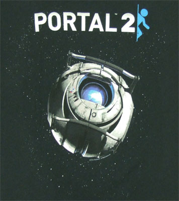 Portal 2 Sheer Women's T-shirt