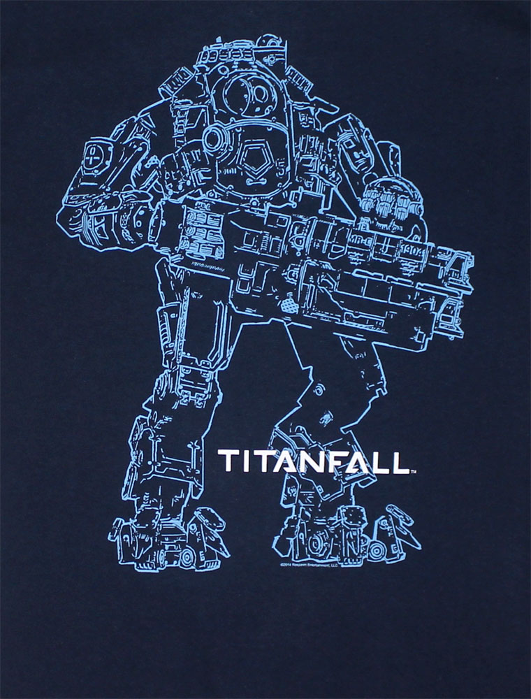 Atlas Outline - Titanfall T-shirt
