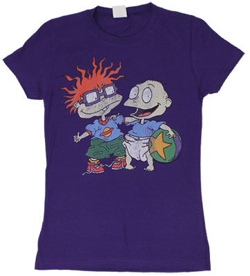 Best Friends - Rugrats Sheer Women's T-shirt
