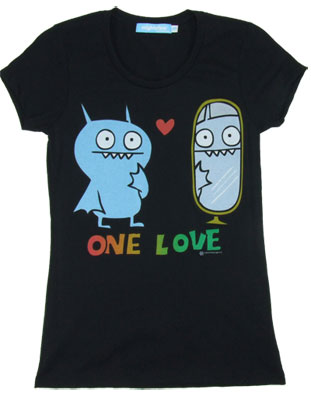 One Love - Ugly Doll Sheer Women's T-shirt