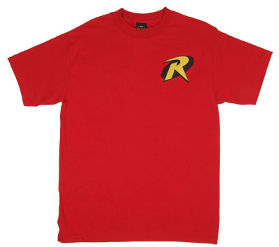 Robin Logo - DC Comics T-shirt