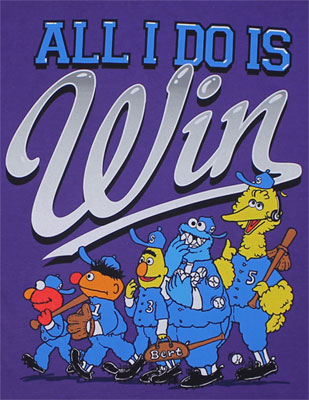 All I Do Is Win - Sesame Street T-shirt