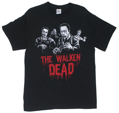 Walken Dead Zombies - Christopher Walken T-shirt