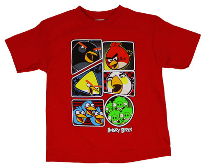 Get Them - Angry Birds Juvenile T-shirt