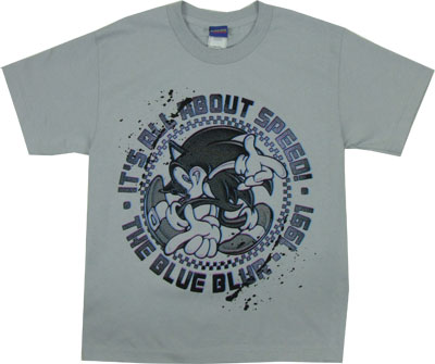 It's All About Speed - Sonic The Hedgehog Boys T-shirt