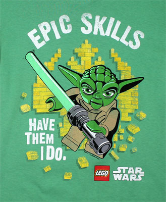 Epic Skills - LEGO Star Wars Youth T-shirt