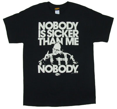 Nobody Is Sicker Than Me - Seinfeld T-shirt