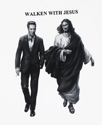 Walken With Jesus - Christopher Walken T-shirt