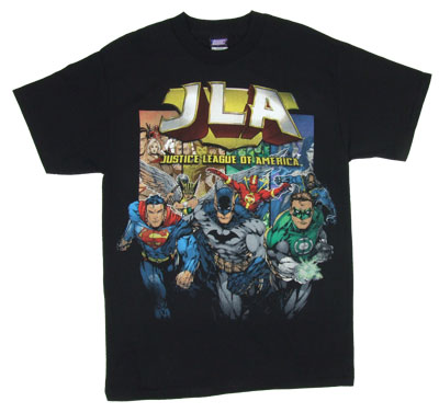 Coming At You - Justice League - DC Comics T-shirt
