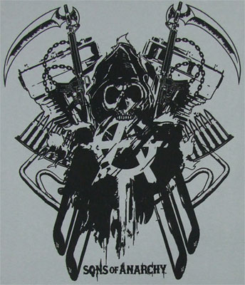 Double Reaper - Sons Of Anarchy T-shirt