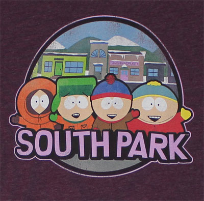 South Park Sheer Women's T-shirt