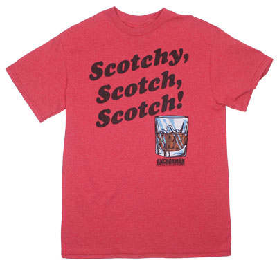 Scotchy Scotch Scotch! - Anchorman T-shirt