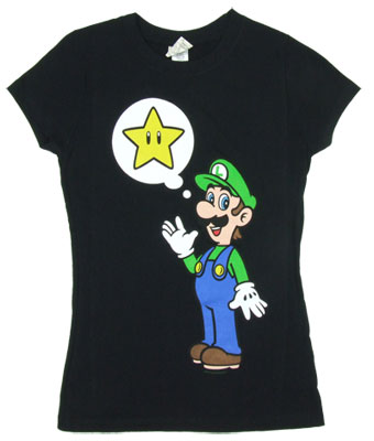 Star On The Mind - Luigi - Nintendo Sheer Women&#039;s T-shirt