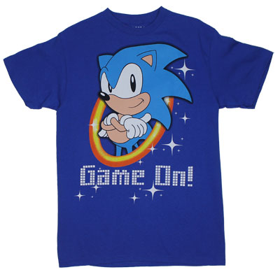 Game On! - Sonic The Hedgehog T-shirt