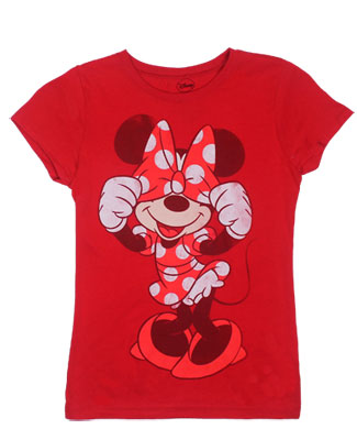 Minnie Hiding - Disney Girls Tee