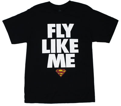 Fly Like Me - DC Comics T-shirt