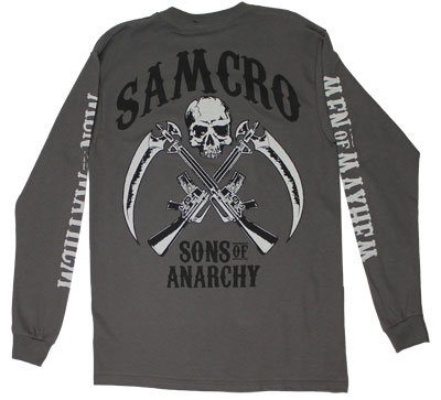 Men of Mayhem - Sons Of Anarchy Long Sleeve T-shirt