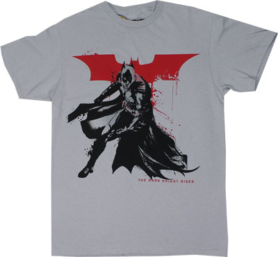 Batman Splatter - Dark Knight Rises T-shirt