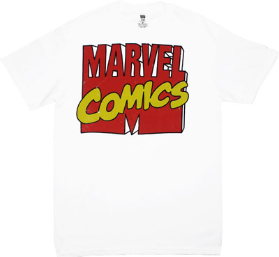 Marvel Logo - Marvel Comics T-shirt