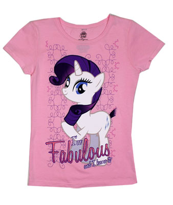 I'm Fabulous And I Know It - My Little Pony Girls T-shirt