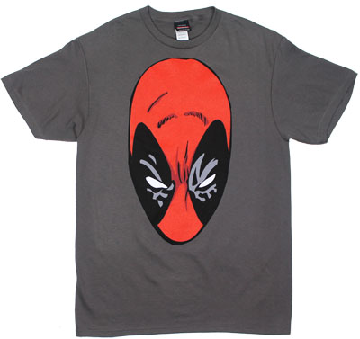 Deadpool Face - Marvel Comics T-shirt