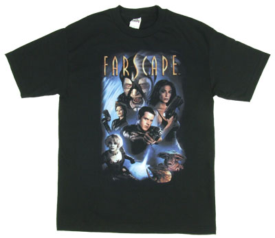 Comic Cover - Farscape T-shirt