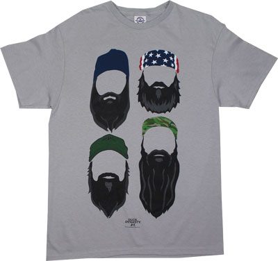 Color Beards - Duck Dynasty T-shirt