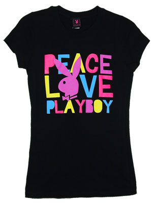 Peace Love Playboy - Playboy Sheer Women&#039;s T-shirt