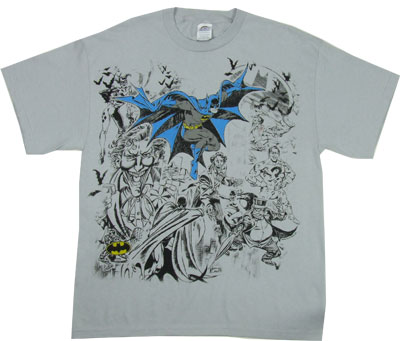 Batman Collage - DC Comics T-shirt