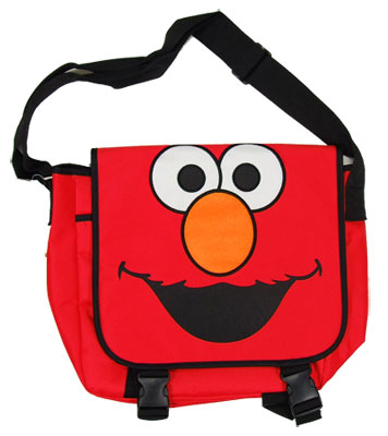 Elmo Face - Sesame Street Messenger Bag