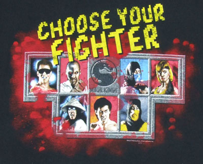 Choose Your Fighter - Mortal Kombat T-shirt