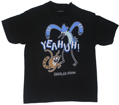 Yeahuh! - Regular Show Youth T-shirt