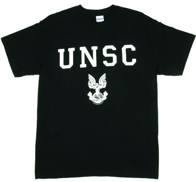 UNSC White Logo - Halo T-shirt
