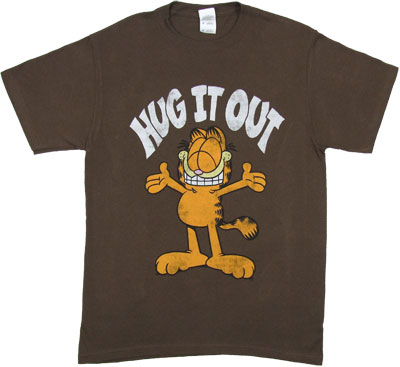 Hug It Out - Garfield T-shirt