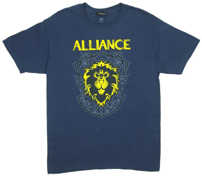 Alliance Crest - World Of Warcraft T-shirt