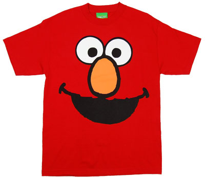 Elmo Face - Sesame Street T-shirt