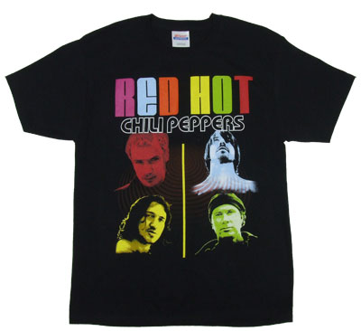 Color Peppers - Red Hot Chili Peppers T-shirt