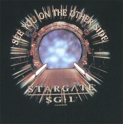 See You On The Other Side - Stargate SG-1 T-shirt