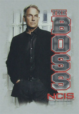 The Boss - NCIS T-shirt